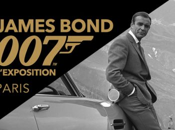 Exposition de James Bond 007 à Paris ce week-end